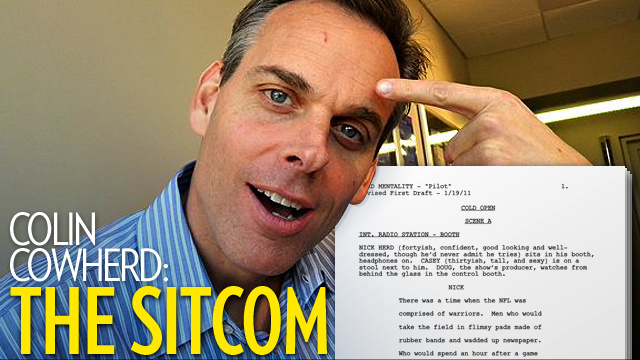We Have The Awful Pilot For Colin Cowherd's Awful TV Show