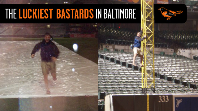 The Story Of Two Guys Who Got Locked In At Camden Yards And Lived Out Every Fan's Dream