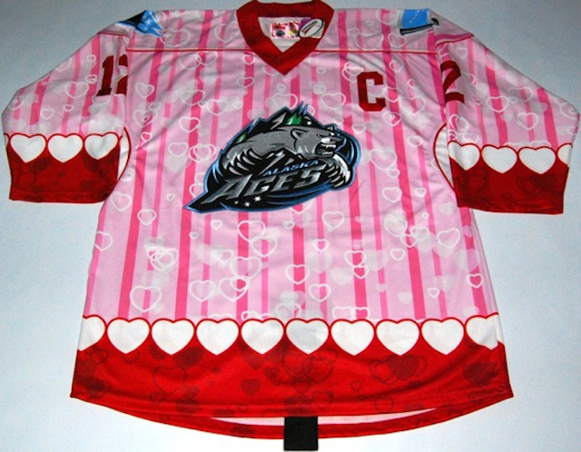 This Pink Nightmare Is An Actual Hockey Jersey