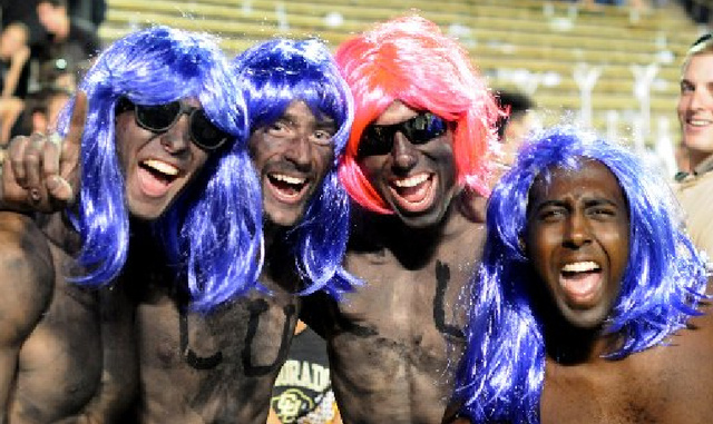 U of Colorado Debates Whether It's Racist For Fans To Paint Their Faces Black