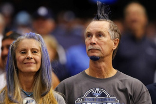 Rays Fans Just Blue Themselves