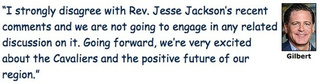 Dan Gilbert Rebuts Jesse Jackson With Silly Font