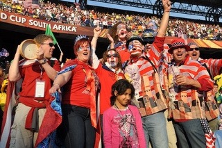 Joy In Pretoria: United States-Algeria, In Pictures