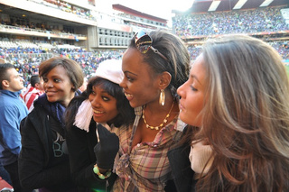 A Beauty In Joburg: Watching Slovenia-USA With The Ladies Of The Miss World Pageant