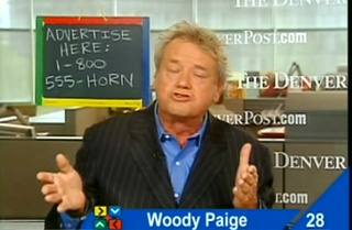Woody Paige Wants You To Call A Phone Sex Line