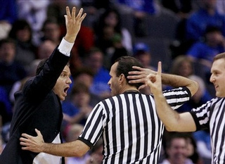 Study: College Basketball Refs Suck, Too