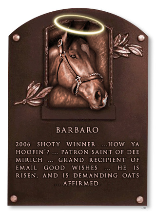 Deadspin Hall Of Fame Inductee: Barbaro