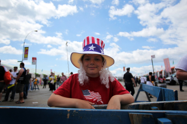 The Nathan's 4th of July Hot Dog Eating Contest Is America