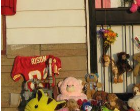 Sad About Michael Jackson's Death? Tack An Andre Rison Jersey To His Childhood Home