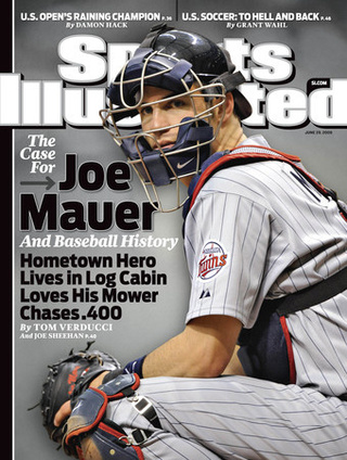Tom Verducci Has Found His Latest Anti-Drug Mascot: Joe Mauer