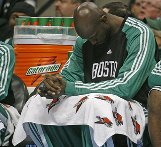 Celtics Will Most Likely Be Garnett-less During Playoffs, Coach Says