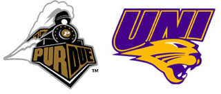 NCAA First Round: (5) Purdue  vs. (12) Northern Iowa