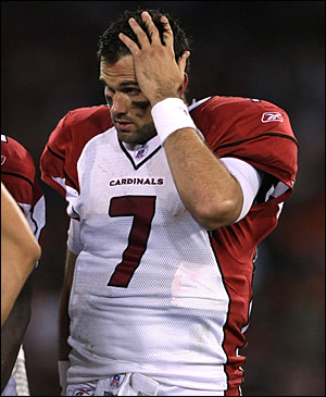 Matt Leinart Just Can't Figure This NFL Quarterback Thing Out Quite Yet