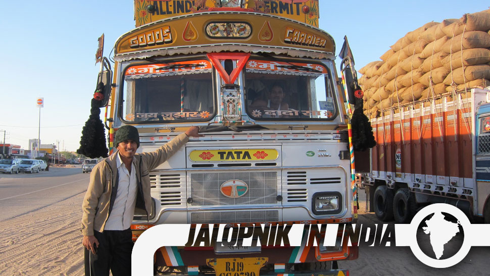 The Amazing Decorated Trucks Of India