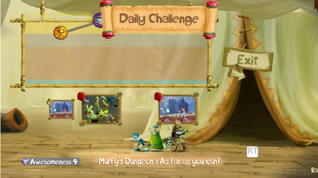 Rayman Legends' Online Challenge Mode will be Released Free on Wii U in April