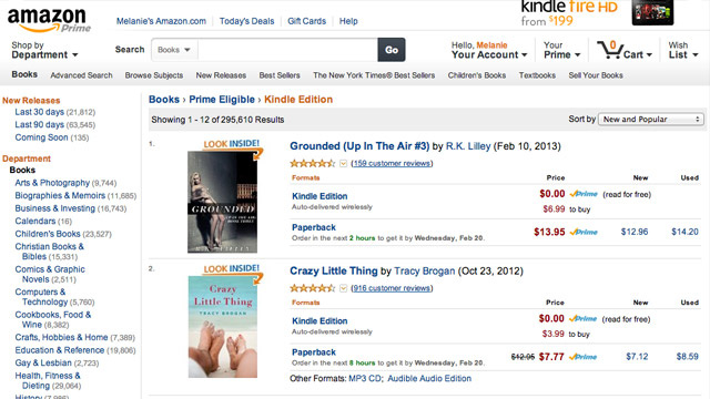 How to View the Entire Free Kindle Lending Library from Your Browser