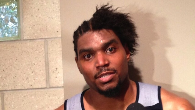 Andrew Bynum's Hair Is Just All Fucked Up Now