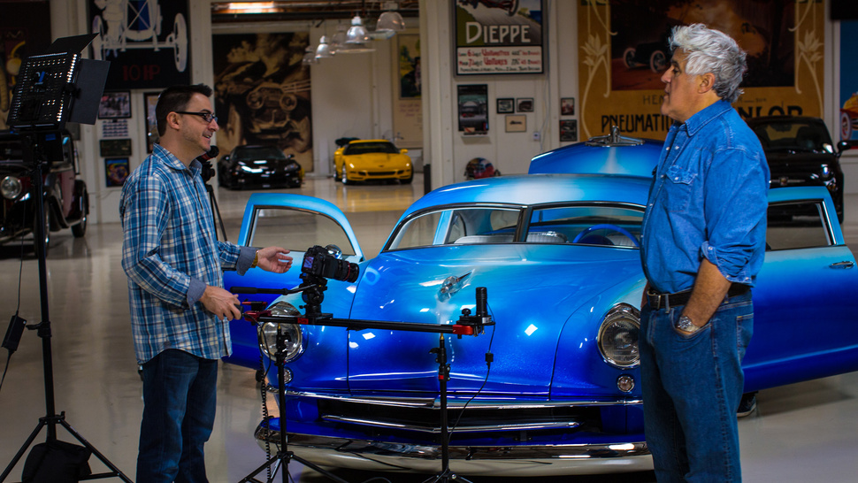 How a Bad Pitch Landed Me at Jay Leno's Garage