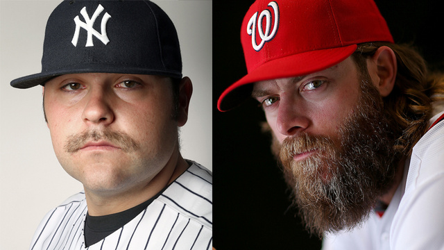 Baseball's Facial Hair Spectrum