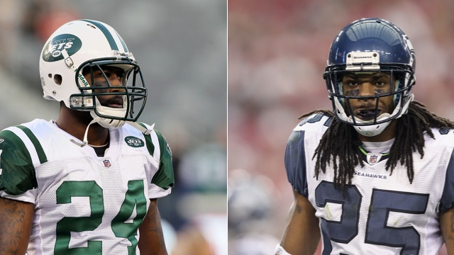 Darrelle Revis And Richard Sherman Got Into A Slap Fight On Twi…