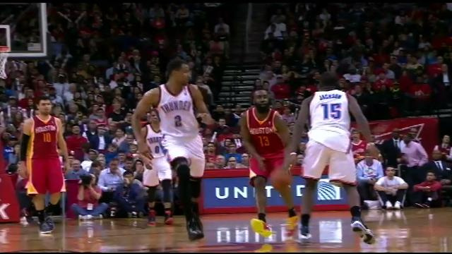 James Harden Sinks Half-Court Buzzer-Beater