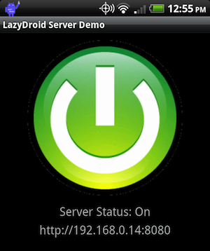 LazyDroid Controls Your Android Phone from Your Web Browser