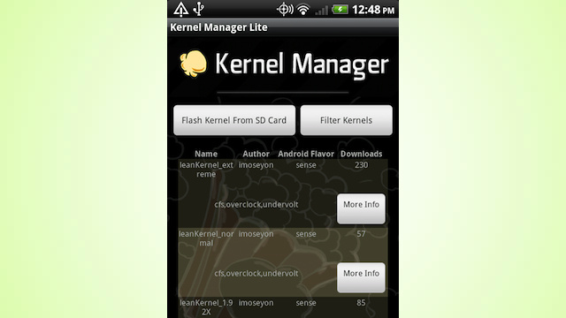 Kernel Manager Makes Installing Custom Android Kernels a Snap