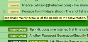 Find Out Why Gmail's Priority Inbox Marked That Message as Important