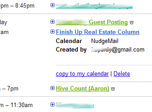 NudgeMail Adds Google Calendar Reminders to Email Re-Delivery Service