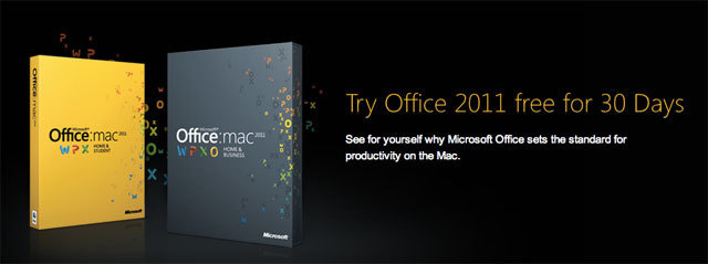 Microsoft Offers Free 30-Day Trial on Office for Mac 2011