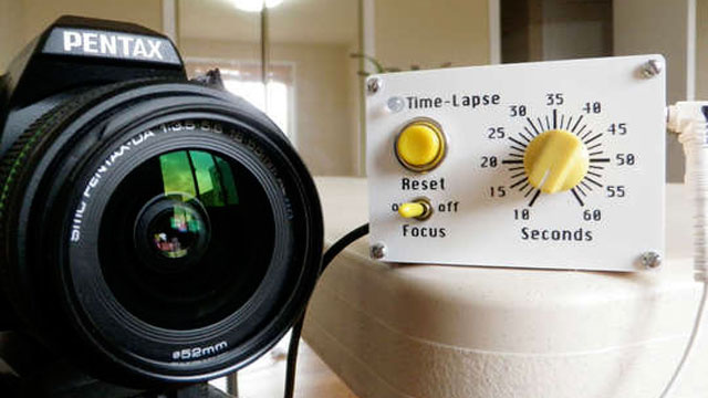 Make a DIY Arduino Intervalometer for Easy Time-Lapse Photography on the Cheap