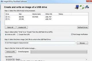 ImageUSB Makes Multiple USB Drive Imaging a Snap
