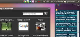 Run Google Gadgets on Ubuntu, No Screenlets Needed