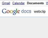 Webclip Snips Web-Based Text to Google Docs