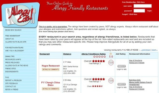 Allergy Eats Rounds Up Allergy-Friendly Restaurants
