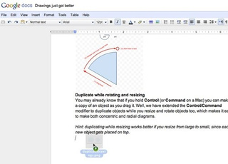 Google Docs Adds Drag-and-Drop Image Insertion