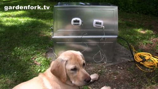 Convert Galvanized Bins into a Polished and Spacious Food Smoker
