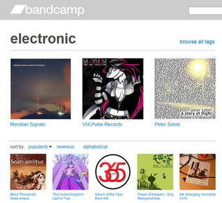 Bandcamp Catalogs Indie Music for Listening and Download