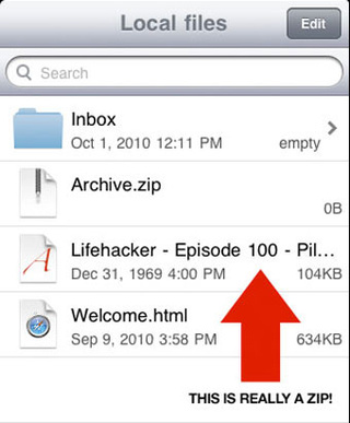 How to Open Compressed Files on Your iOS Device