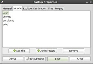 SBackup Is a Simple Backup Solution for Linux PCs