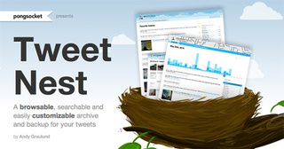 Tweet Nest Is a Customizable, Searchable Twitter Backup Tool