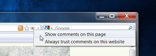 CommentBlocker Hides Comments on Web Sites Automatically