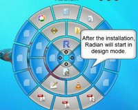 Radian Is a Radial Mouse-Centered Application Launcher