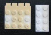 Restore the Color of Old Lego Bricks