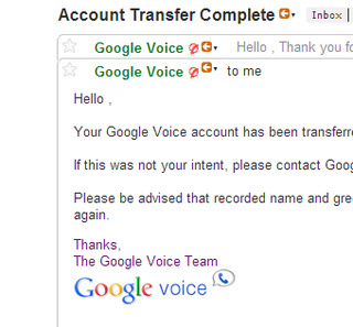 How to Transfer Google Voice to Your Google Apps Account