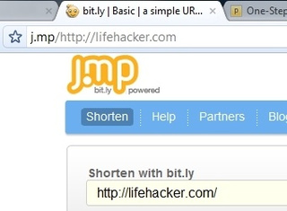 Shorten URLs from Your Address Bar