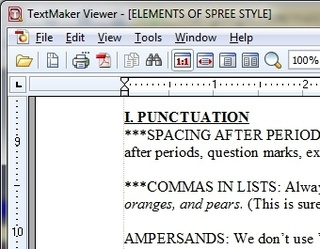 TextMaker Viewer 2010 Opens Office Documents Quick and Easy
