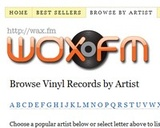 Wax.fm Catalogs Current and Historical Vinyl Record Offerings