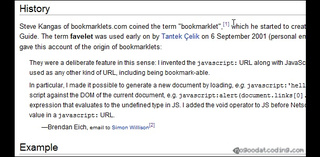 Wikipedia Footnote Displays Sources by Mousing Over Footnotes