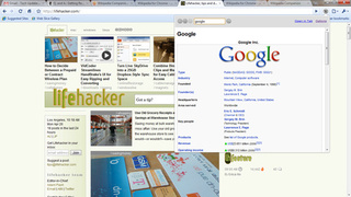 Wikipedia Companion Adds Mini Browser to Google Chrome